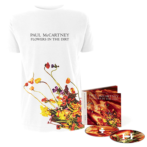 Flowers In The Dirt T-shirt & 2CD