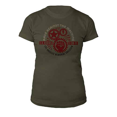 Gear Circle L.A. Rising Women's tee