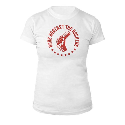 Mic Fist Women's White Tee