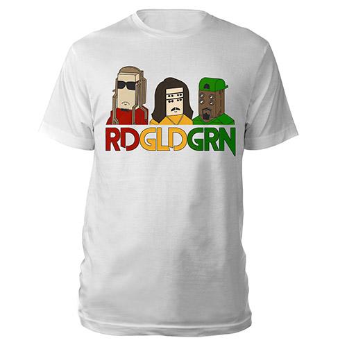 RDGLDGRN 3 Robots Tee