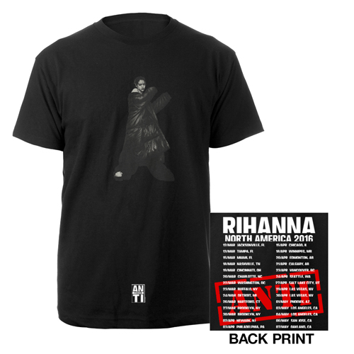 Rihanna Anti-Tour T-Shirt
