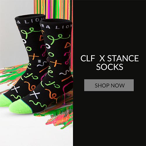 CLF X STANCE SOCKS