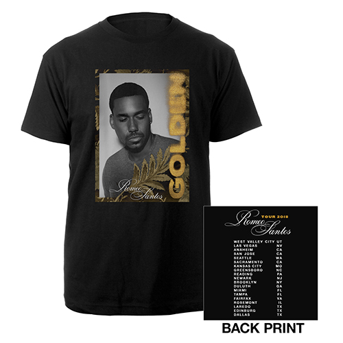Romeo Santos Golden Tour T-Shirt