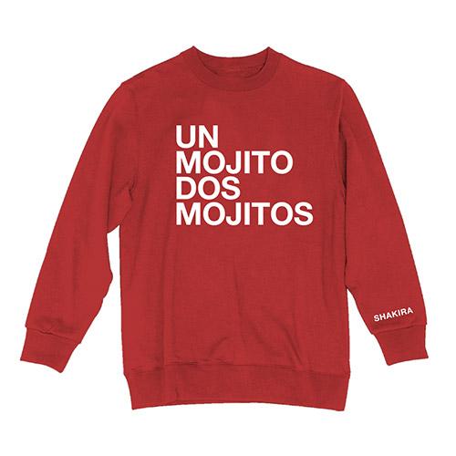 Shakira Crew Neck Sweatshirt