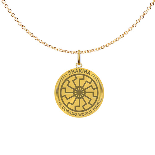Shakira El Dorado World Tour Necklace