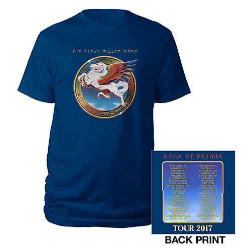 Book Of Dreams Tour Blue Event Tee