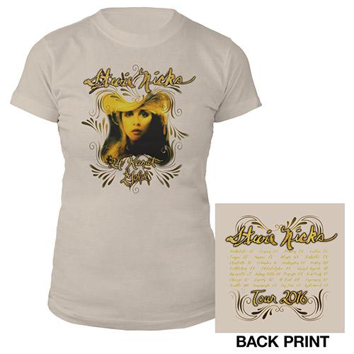 Stevie Nicks 24 Karat Gold Album Cover Tour Tee