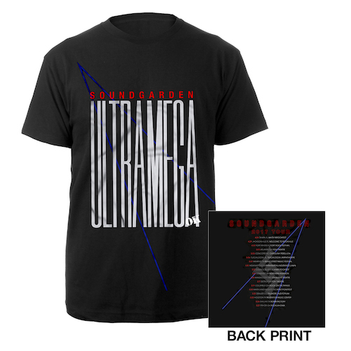 Ultramega OK 2017 Spring Tour Itin Tee