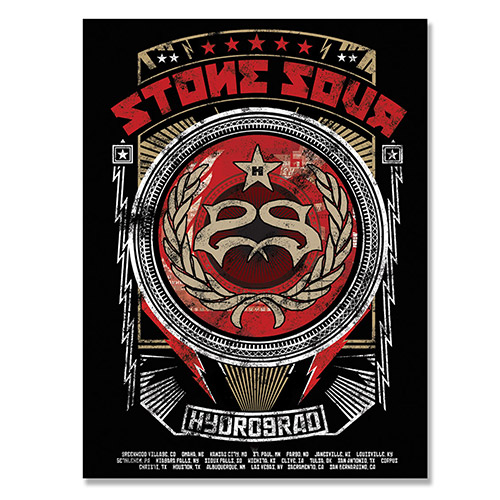 Stone Sour Hydrograd Poster