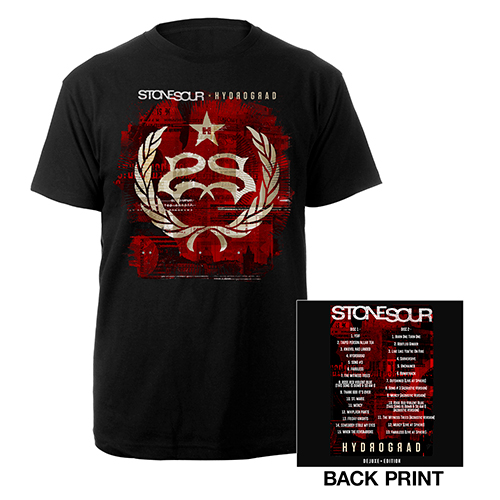 Hydrograd Deluxe Tracklisting Tee
