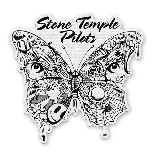 Stone Temple Pilots Butterfly Patch