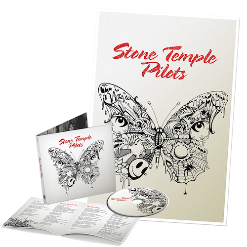 Stone Temple Pilots CD + Ltd. Edition Hand-Signed Litho