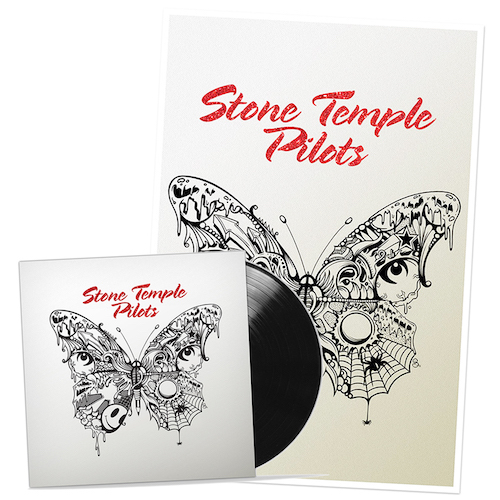 Stone Temple Pilots LP + Ltd. Edition Hand-Signed Litho