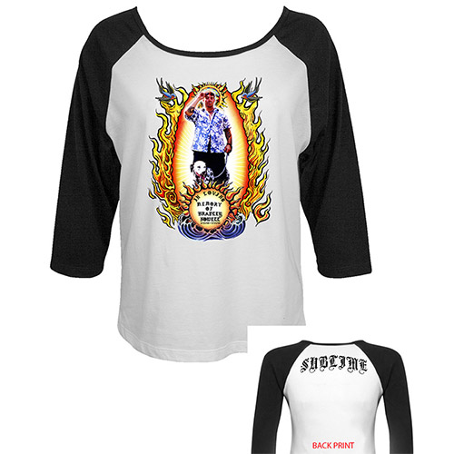 Tribute to Bradley Ladies Raglan