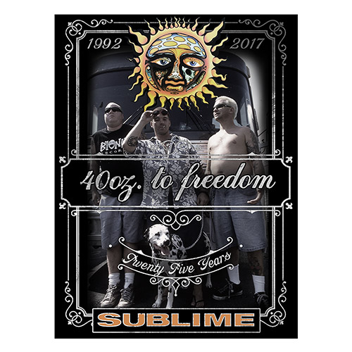 Sublime 25th Anniversary Poster