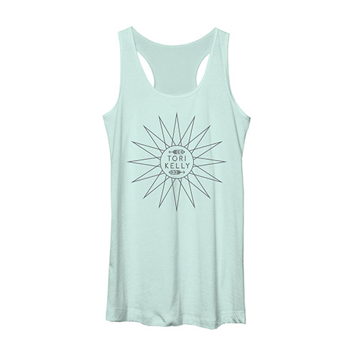 Racerback Tank with Sunburst