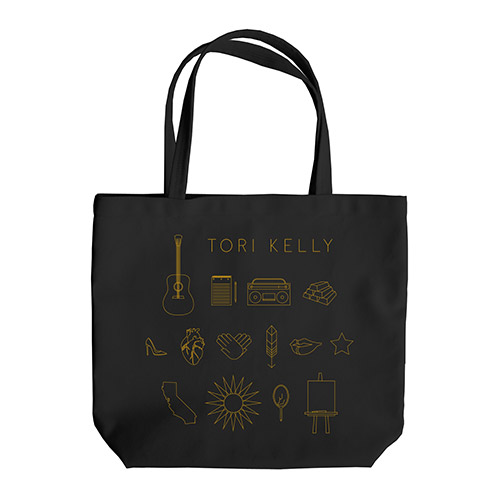 Black Tori Kelly Tote