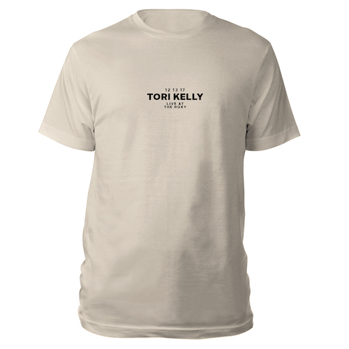 Tori Kelly Live at The Roxy Tee