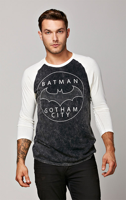 Mens Batman Raglan