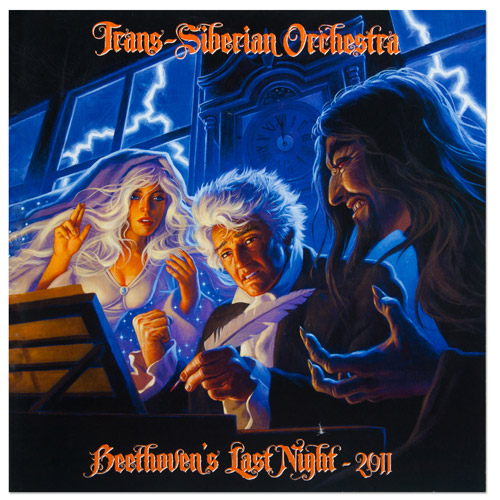 Trans-Siberian Orchestra Beethoven's Last Night 2011 Tour Program