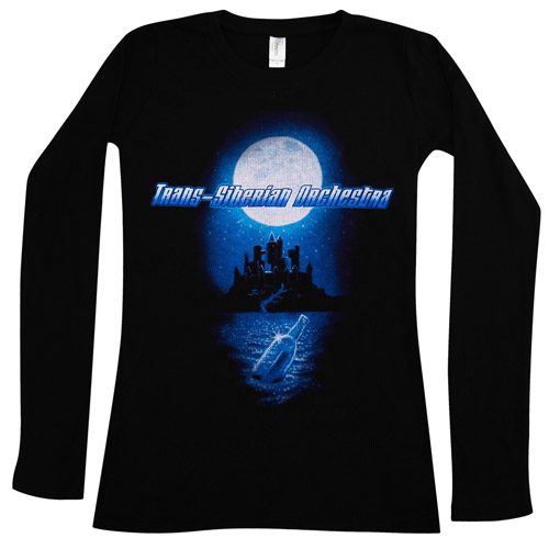 Trans-Siberian Orchestra Sea of Tears Women's Thermal Shirt