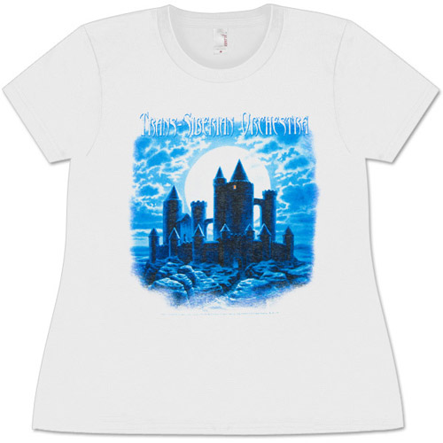 Trans-Siberian Orchestra Night Castle Missy T-Shirt