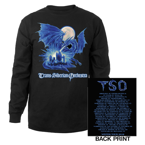 Ice Dragon Long Sleeve Shirt