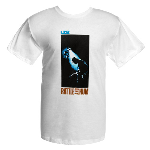 Rattle and Hum Album Photo T-Shirt