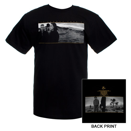 The Joshua Tree Album Cover T-Shirt