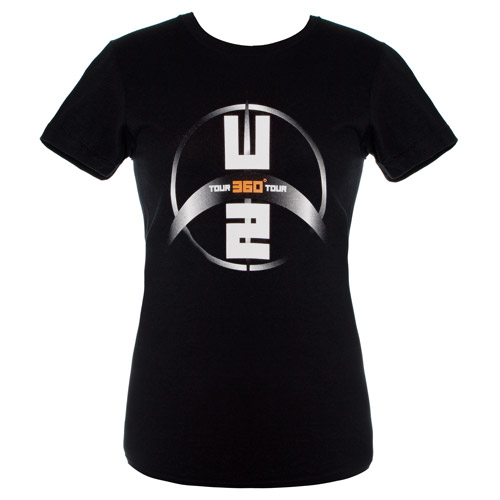 U2 360 Tour Logo Babydoll Shirt