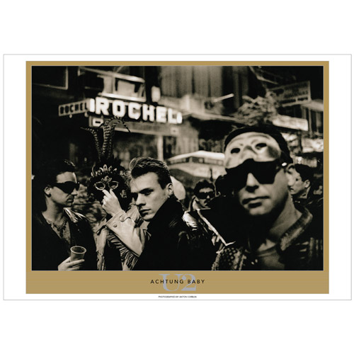 Achtung Baby by Anton Corbijn.  Exclusive Limited Edition Lithograph Series