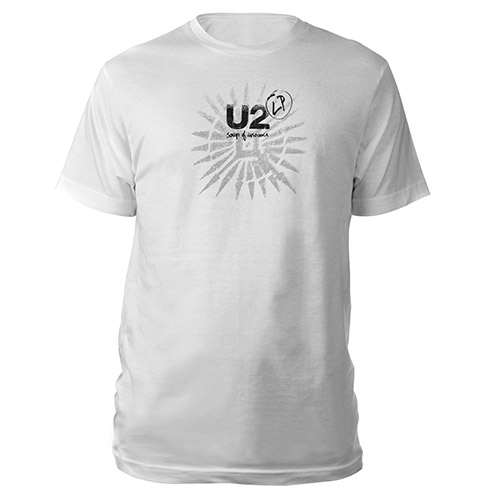 Songs Of Innocence Tattoo/LP T-Shirt (White)