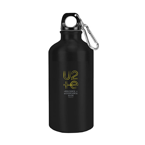 U2ie Tour Black Water Bottle