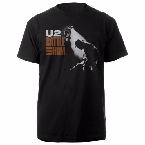 Rattle And Hum Album Cover T-Shirt