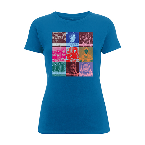U2 HerStory Ocean Blue Ladies T-shirt