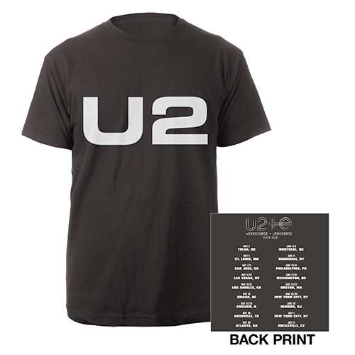 U2 eXPERIENCE + iNNOCENCE US Tour Charcoal Unisex T-shirt