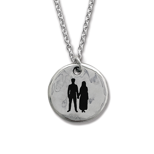 Songs of Experience Round Silver Pendant