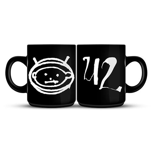 U2 Zooropa Black Mug