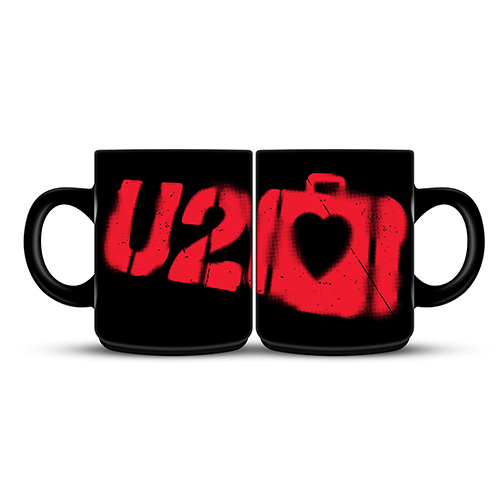 U2 Elevation Black Mug
