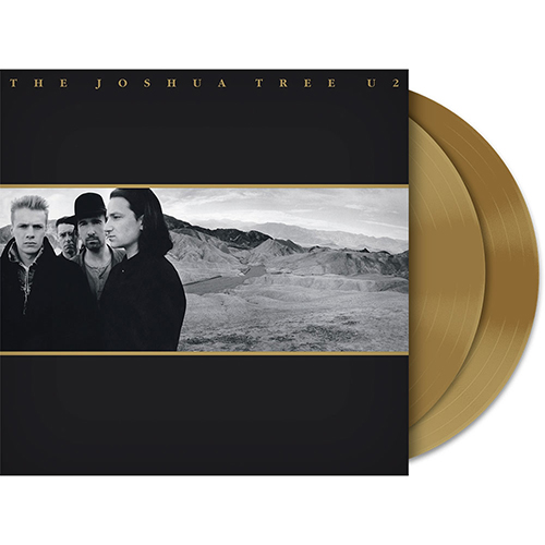 U2 The Joshua Tree Gold 2LP