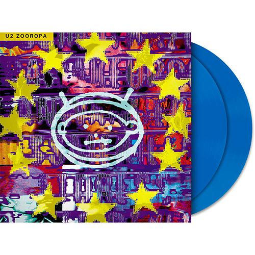 U2 Zooropa Blue 2LP