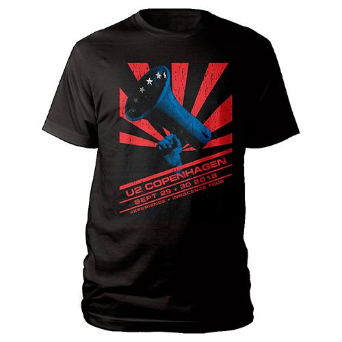 U2 eXPERIENCE + iNNOCENCE Copenhagen Event T-shirt