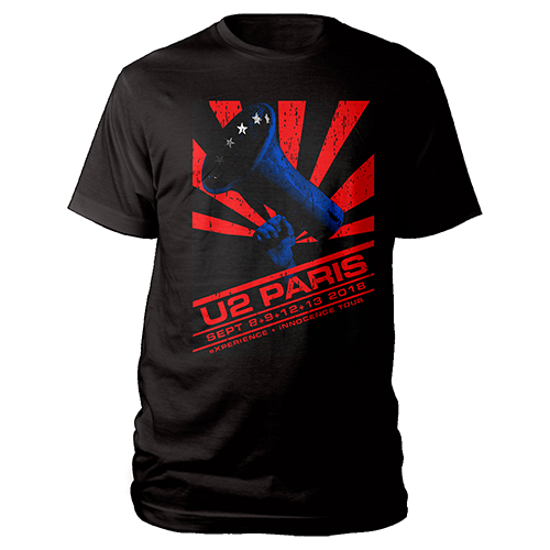 U2 eXPERIENCE + iNNOCENCE Paris Event T-shirt