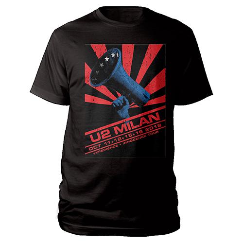 U2 eXPERIENCE + iNNOCENCE Milan Event T-shirt