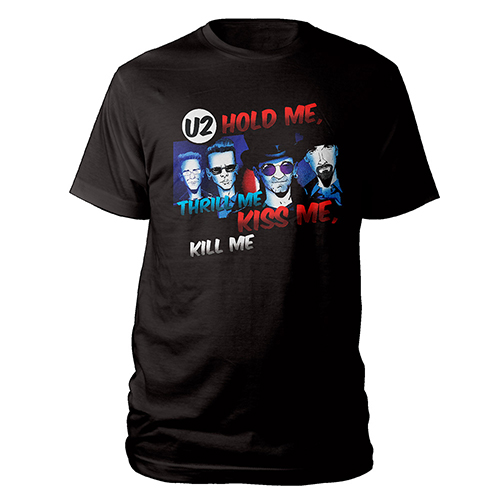 Limited Edition Hold Me, Thrill Me Black T-shirt
