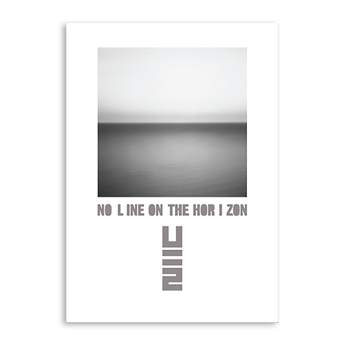 Limited Edition No Line On The Horizon Screen Print