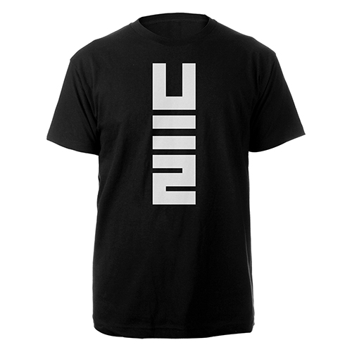 No Line On The Horizon Black T-shirt