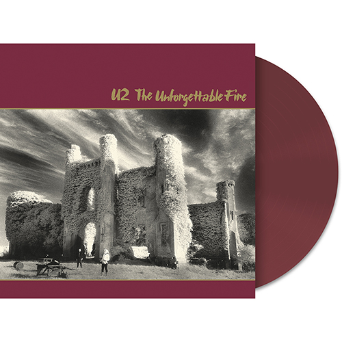 The Unforgettable Fire Limited Edition Wine Vinyl