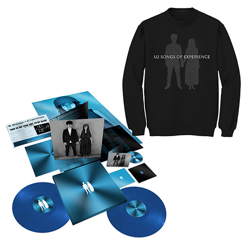 Songs of Experience Extra Deluxe Boxset + Photo Black Sweatshirt
