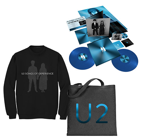 Songs of Experience Extra Deluxe Boxset + Photo Black Sweatshirt + Tote Bag